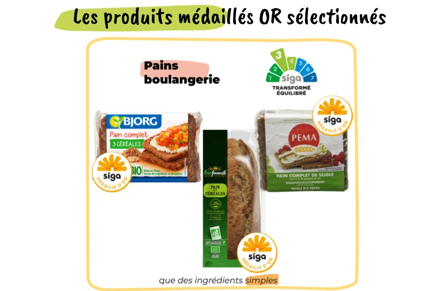 Les produits médaillés recommandés pour la recette de salade panzanella
