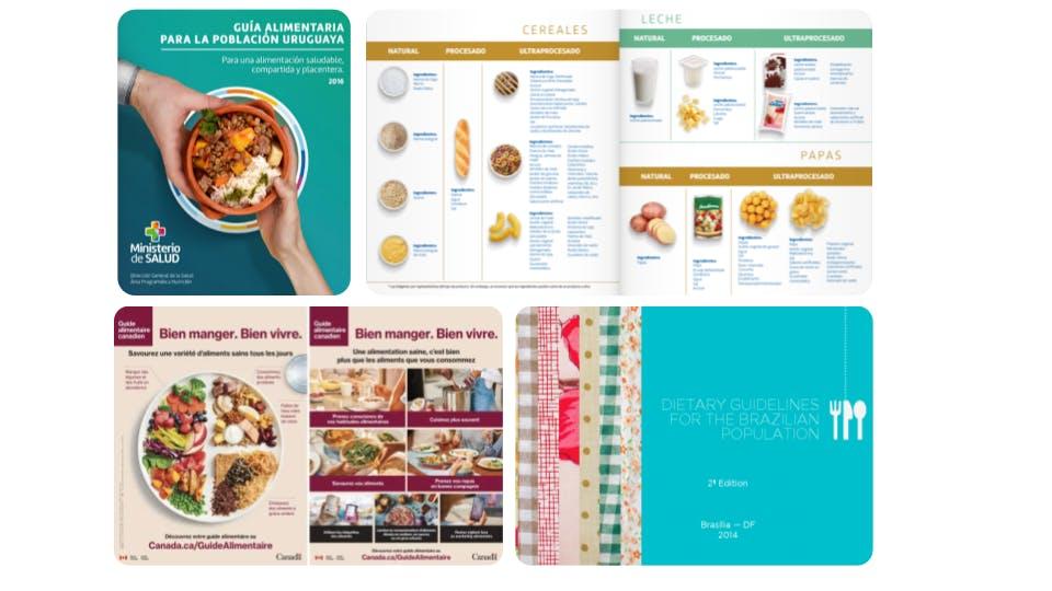 guides alimentaires basés sur la classification NOVA