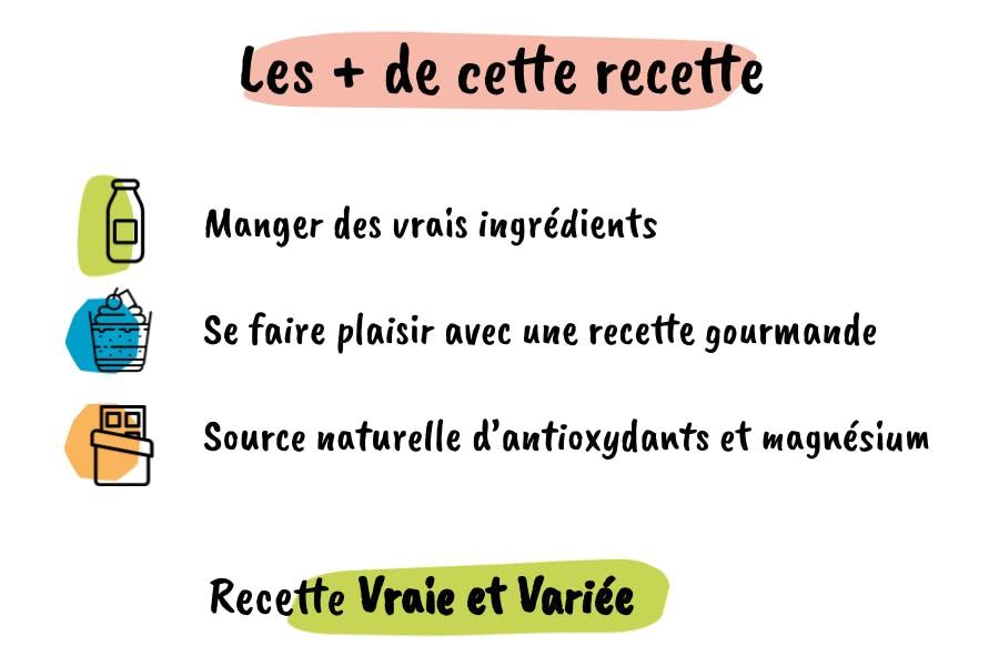 Les atouts de cette recette de crème au chocolat liégeois