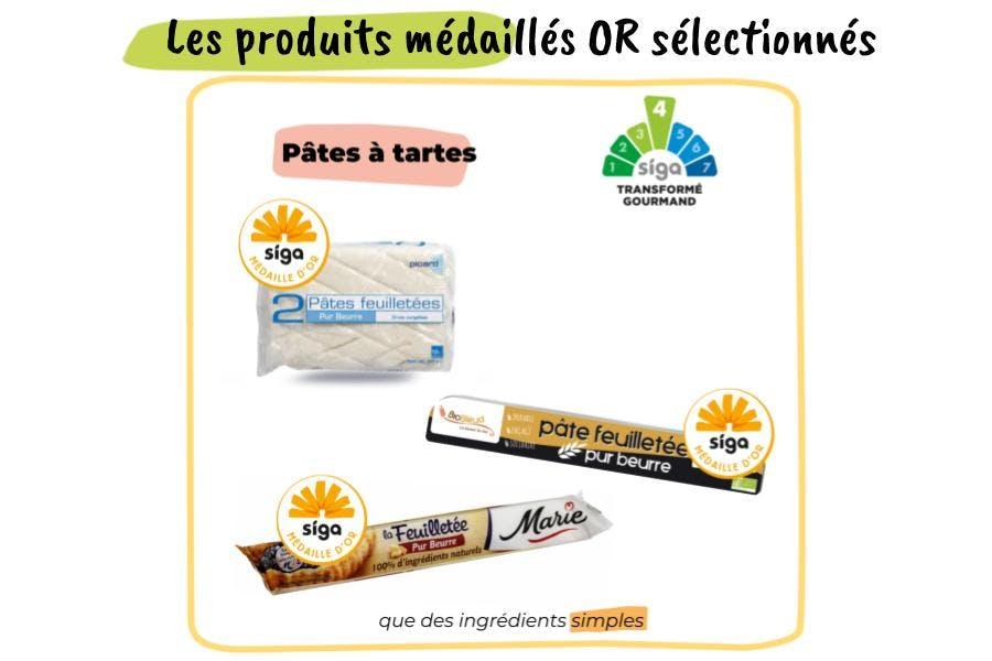 Les pâtes feuilletées médaillées d'or Siga pour la recette