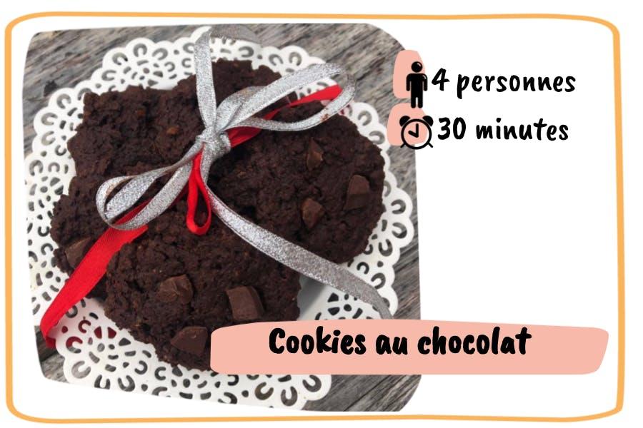 Recette de cookies au chocolat pour 4 personnes en 30 minutes