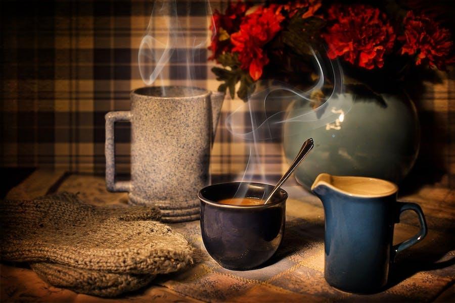 un café, élément essentiel du petit déjeuner