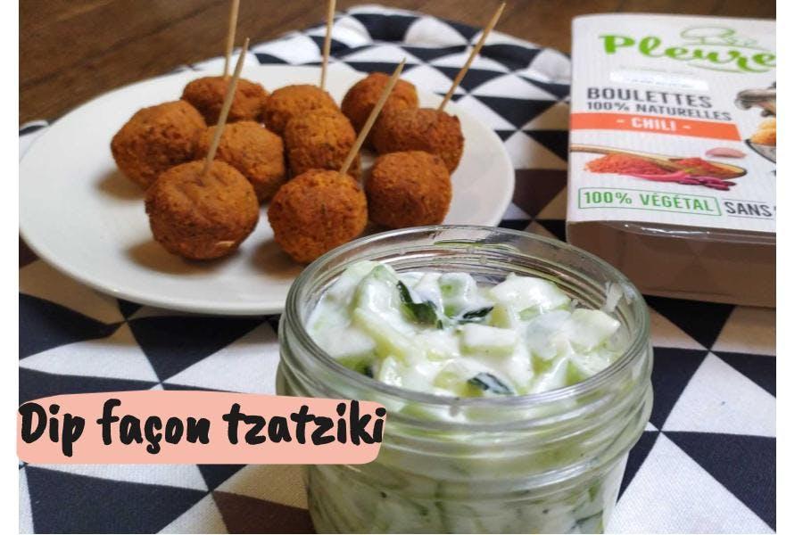 recette de dip apéro façon tzatziki