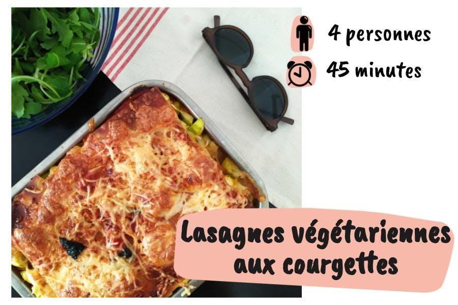 Lasagnes végétariennes aux courgettes
