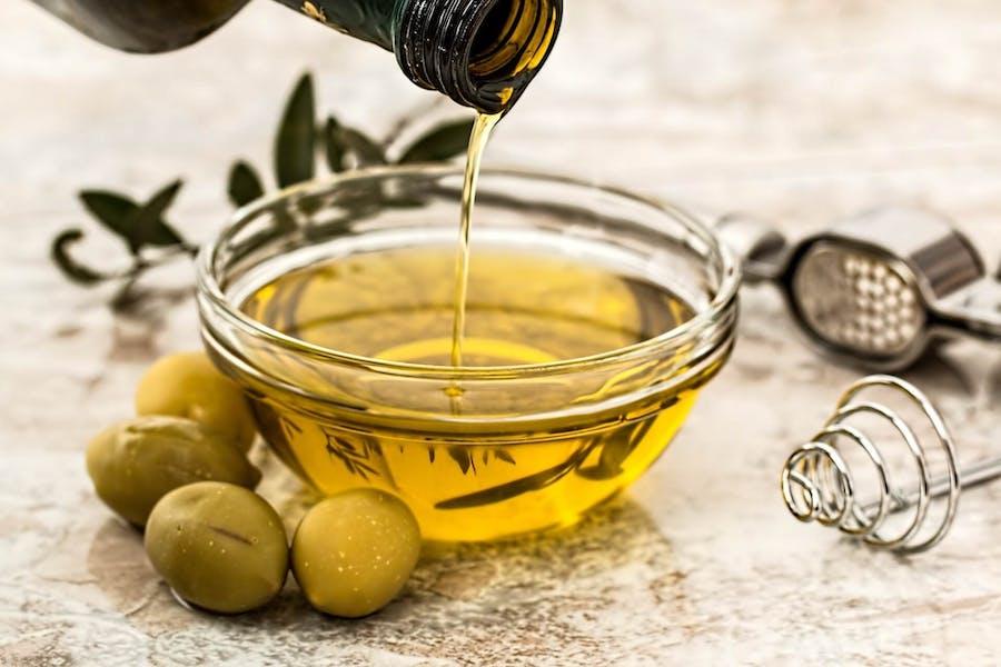 Recommandation de huiles vierges extra, premier pression à froid
