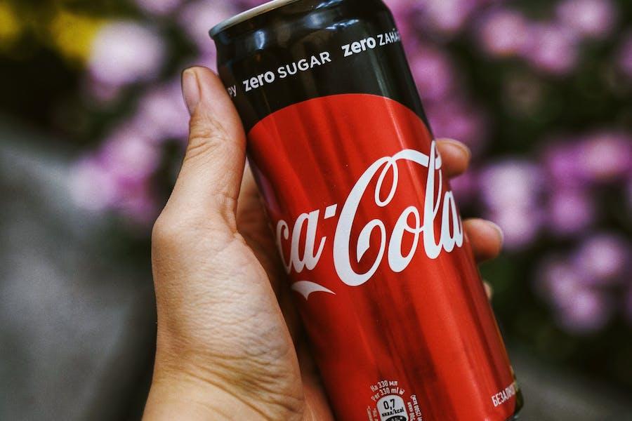"""produits allégés : soda """"0 sucre"""""""