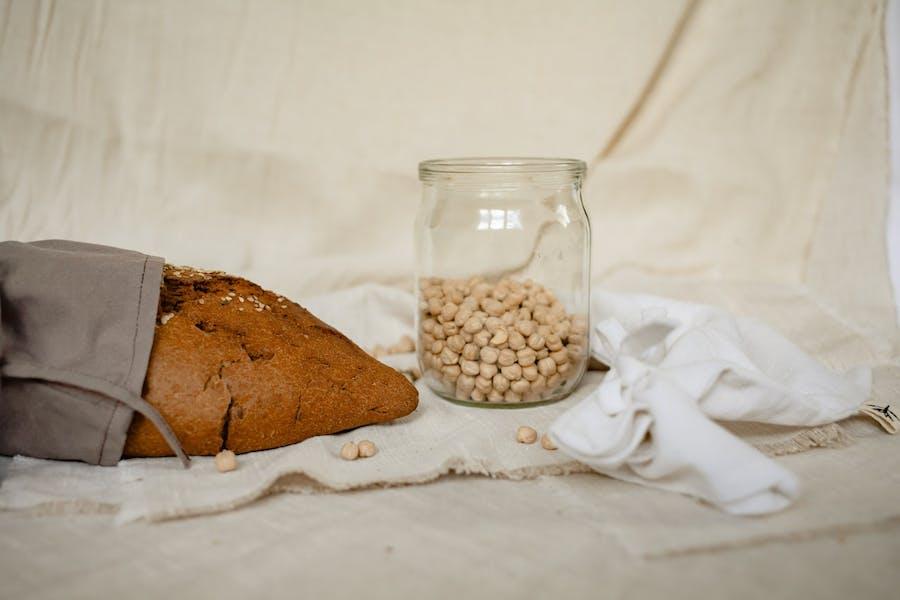 la fermentation et acide phytique : exemple du pain des pois chiches