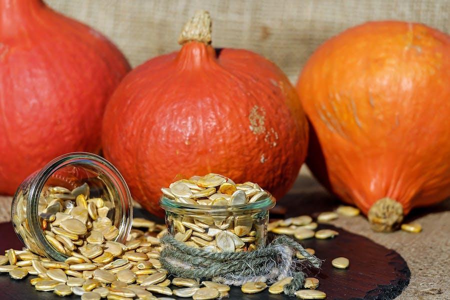 des légumes et des graines pour une alimentation durable