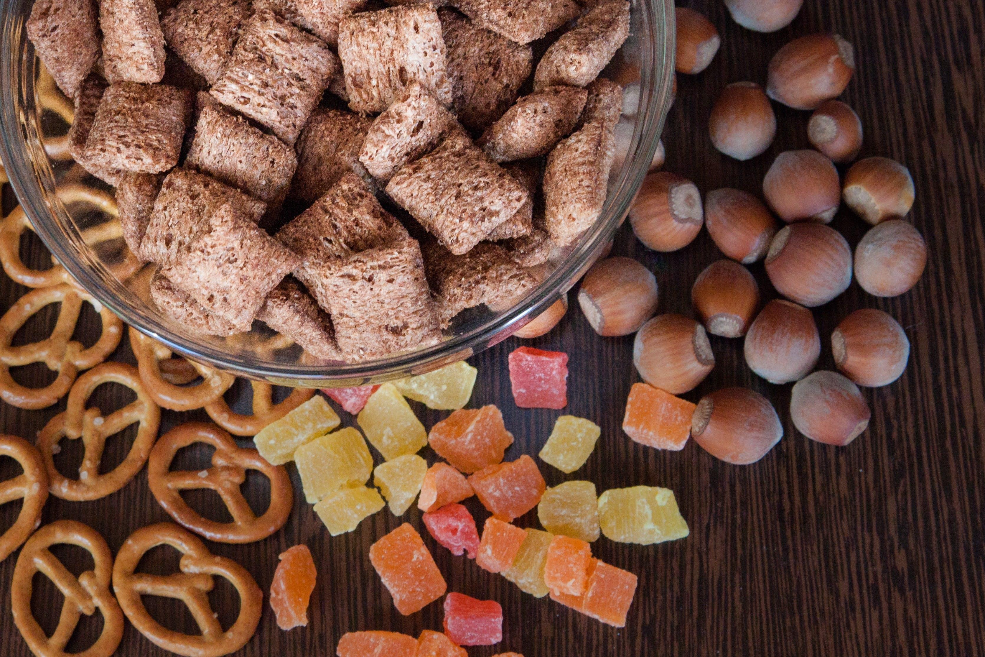 des aliments à indice glycémique different et potentiellement ultra-transformés