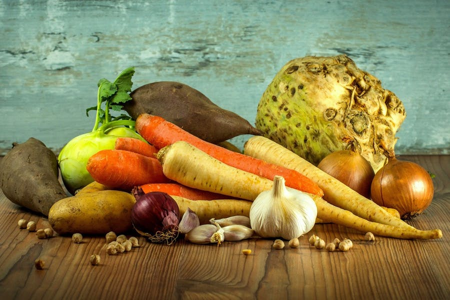 Des légumes, une source de fibres